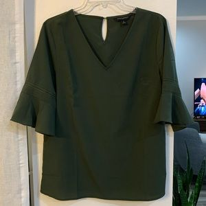 Olive Green Banana Republic Top